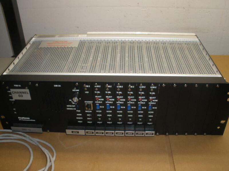 Harris Raytheon JPS SNV-12 Signal & Noise Voter Chassis PSM-1A CIM-2A CPM3 SVM-2