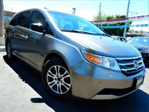 2011 Honda Odyssey EX-L W/RES | 8-PASS | LEATHER.ROOF | TV/DVD