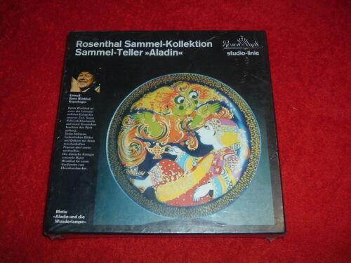 ROSENTHAL  Wiinblad Aladdin & Magic Lamp, NEW, Originally Sealed, Mint, NRFBox