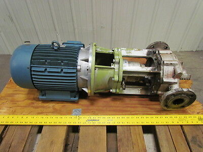 Allweiler Nit 40-160150 10 Hp Volute Centrifugal Pump 220v 3ph 60hz 50mm Ports