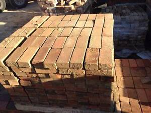PAVERS - RED and Brown Brick Pavers  RECYCLED Lidcombe Auburn Area Preview
