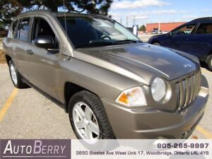 2008 Jeep Compass Sport ***CERTIFIED ACCIDENT FREE*** $5,499