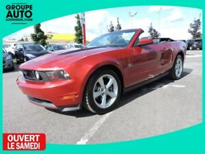 2010 Ford Mustang GT CONVERTIBLE CUIR MAG TRÈS PROPRE