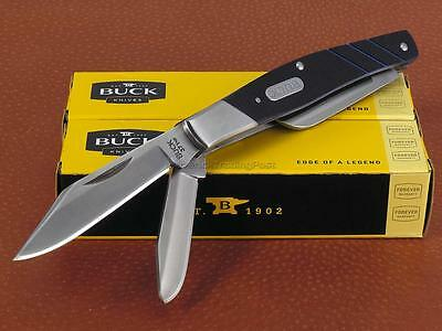 Blade Folder Pocket Knife (Buck Stockman Folder Pocket Knife 420J2 Clip Spey Sheepsfoot Blades G10)
