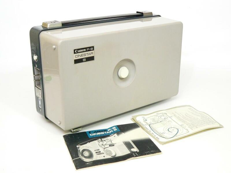 Canon P-8 CINESTAR S Dual 8 Varispeed Movie Projector