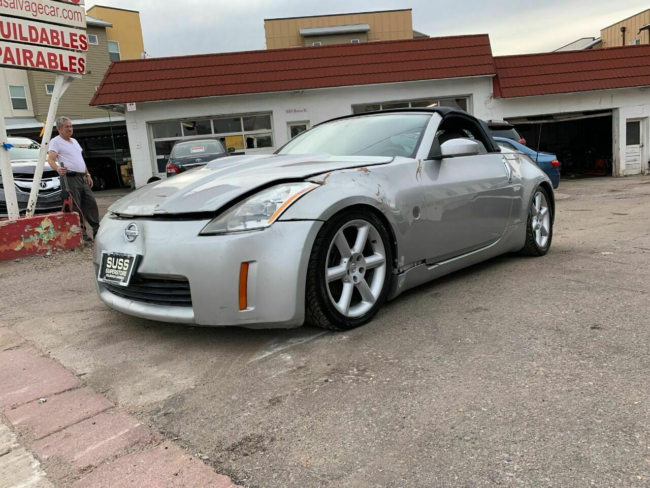 2004 Nissan 350Z, Silver with 21274 Miles available now!