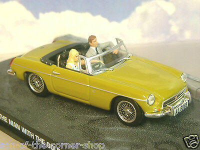 EXCELLENT DIECAST 1/43 JAMES BOND 007 MGB MG B FROM THE MAN WITH THE GOLDEN GUN