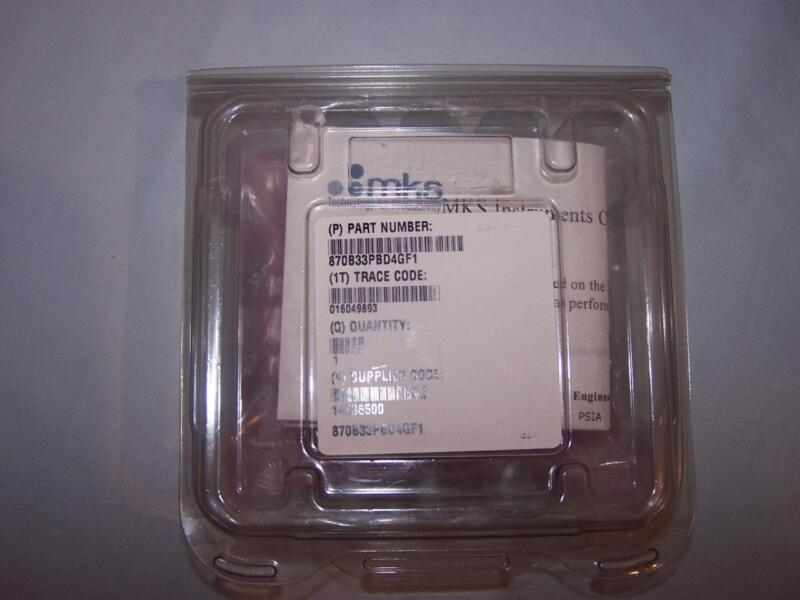 MKS INSTRUMENTS 870B33PBD4GF1 MARATRON PRESSUE TRANSDUCER NEW IN MFR PACKAGE