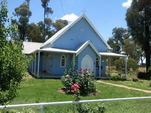 BEAUTIFUL CONVERTED CHURCH AT BRIBBAREE NSW Bribbaree Weddin Area Preview