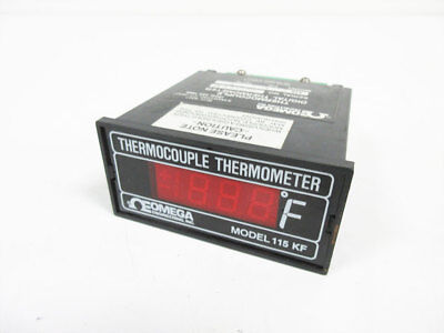 Omega 115 K-f Thermocouple Thermometer 115-k-f 115kf