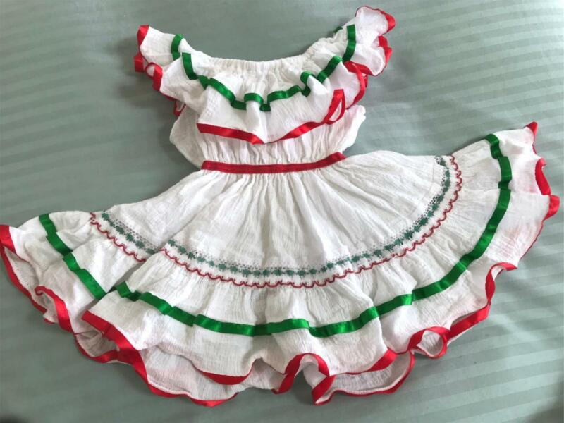 Toddler Baby Girl Mexican Fiesta Dress ~ Size 18months ?