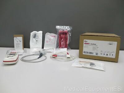 New Rad-5 Handheld Pulse Oximeter With Case Adult Pediatric Sensors