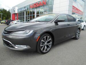 2015 Chrysler 200 C AWD CUIR TOIT OUVRANT GPS CAMÉRA RECUL BLUET