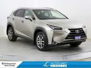 2015 Lexus NX 200t AWD, Luxury, Navi, Back Up Cam, Moon Roof!
