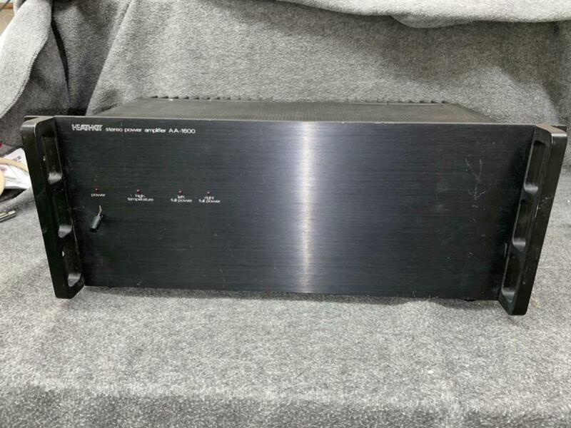 Heathkit AA-1600 Power Amplifier *SERVICED* RECAPPED