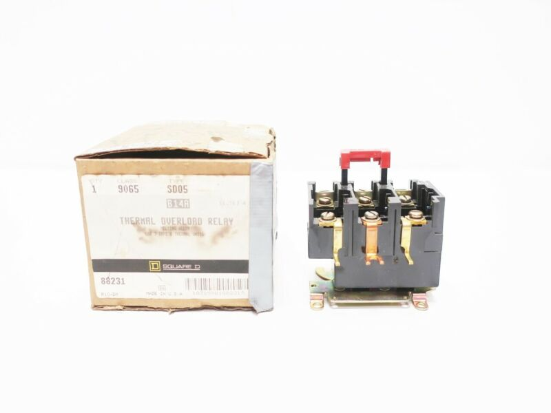 Square D 9065 SD05 Thermal Overload Relay