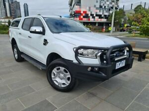 2017 Ford Ranger PX MkII 2018.00MY XLT Double Cab 4x2 Hi-Rider White 6 Speed Sports Automatic South Melbourne Port Phillip Preview