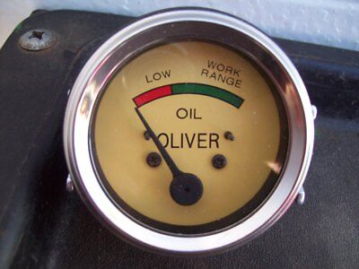 Oliver 44 Through 88 Tractor Oil Pressure Guage Free Shipping