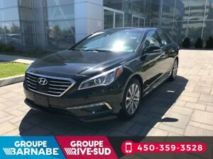 2016 Hyundai Sonata LIMITED 2.4L CUIR NAVIGATION NO CARPROOF
