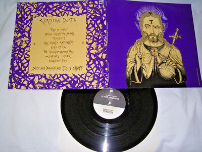 LP - Christian Death Sex Drugs & Jesus Christ - 1988 FOC # cleaned