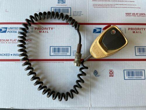 Vintage Motorola 4-Pin Microphone p/n:- TMN6013A for Mocom, Motrac FM Radios