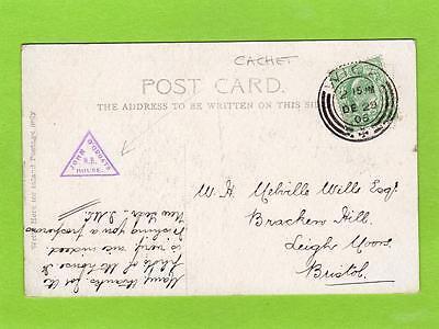 John O'Groats N B House tourist cachet on pc used Wick 1906