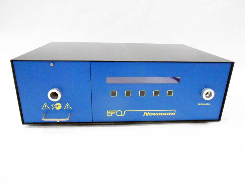 EFOS N2001-A NOVACURE UV SPOT CURING SYSTEM ULTRAVIOLET LIGHT SOURCE