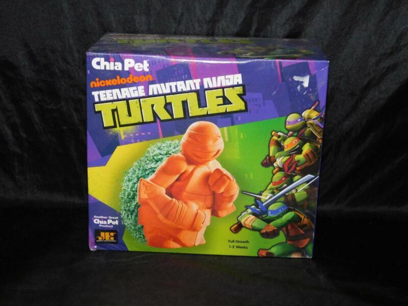 Chia Pet Teenage Mutant Ninja Turtles NEW Sealed Planter Plant Covers Shell