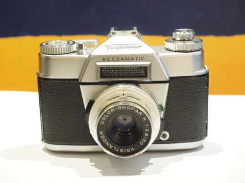 Voigtlander Bessamatic - complete as purchased 1960!