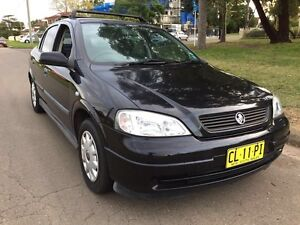 2003 Holden Astra TS Black 4 Speed Automatic Low Kms Liverpool Liverpool Area Preview