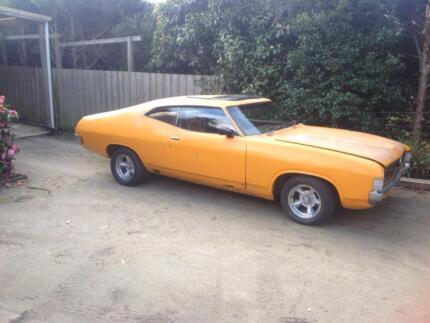 Ford XB XA Coupe 351 top loader  (rusty) Somerville Mornington Peninsula Preview