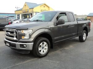 2016 Ford F-150 XLT SuperCab 4X4 5.0L 6ftBox