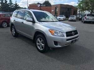 2010 Toyota RAV4 AWD,4CYLENDERS,SAFETY+3YEARS WARRANTY INCLUDED