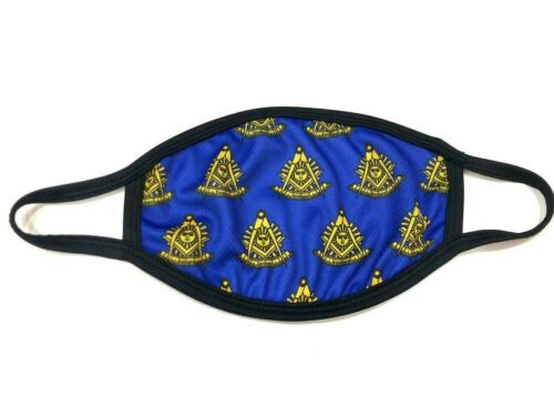 MASONIC PAST MASTER FACE MASK, FREEMASON FACE MASK , CUSTOM FACEMASK