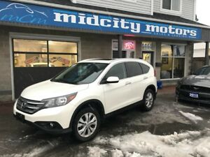 2014 Honda CR-V Touring+Loaded+Leather+Nav+AWD