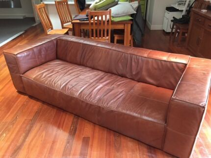 Tan Leather Sofa Sofas Gumtree Australia Free Local
