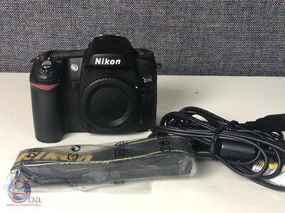 *Lightly Used in Lab * Nikon D80 10.2MP Digital SLR Camera w/ Charger, used for sale  Shipping to India