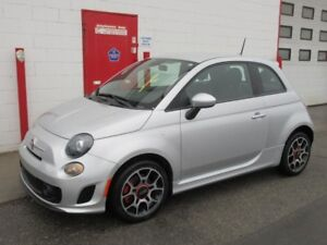 2014 Fiat 500 Sport Turbo ~ only 16,384 kms! ~ 5 speed ~ $11,999