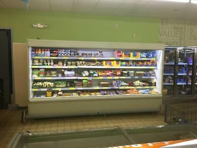 Hussmann D5x And C5x Dairy Smoked Meat Produce Or Fresh Meat Display Cases