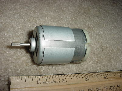 Small Dc Electric Motor 13.6 Vdc 3 Amp 6290 Rpm M31