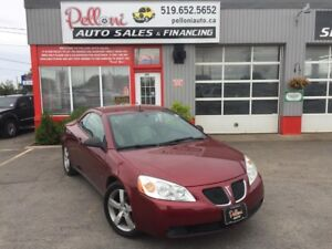 2008 Pontiac G6 GT HARD TOP CONVERTIBLE WITH LEATHER!