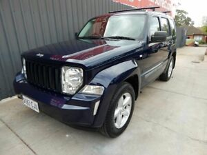 2012 Jeep Cherokee KK MY12 Sport 4x2 Blue 4 Speed Automatic Wagon Blair Athol Port Adelaide Area Preview
