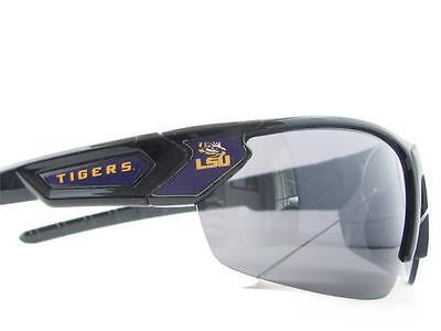 Louisiana State Tigers Black Purple Sport  Mens Womens Sunglasses LSU (Lsu Sunglasses For Men)