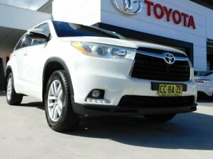 2015 Toyota Kluger GSU50R GX (4x2) White 6 Speed Automatic Wagon Greenway Tuggeranong Preview