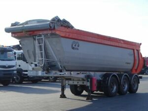 Menci TIPEPR 28 M3/ FULL STEAL / LIFTED AXLE /
