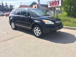 2007 Honda CR-V AWD,LEATHER,S/R,MAGS,SAFETY+3YEARS WARANTY INCLU