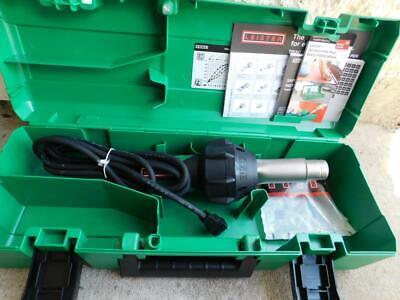 Leister Triac St Hot Air Gun Blower Plastic Welder Heat Gun