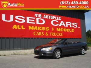 2005 Chrysler Sebring conv Convertible Automatic AS IS