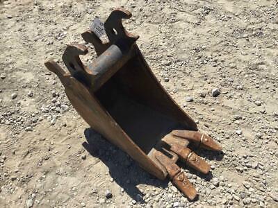 12 Excavator Tooth Bucket John Deere Quick Coupler 8 14 Ear Width S 701403