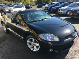 2007 Mitsubishi Eclipse GS/CONVERTIBLE/LOADED/ALLOYS